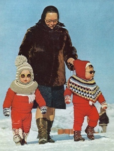 Greenland tots|National Geographic | December 1973