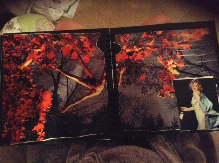 This is from my 2011 scrapbook! I know right! Original images. Don't get used to it.